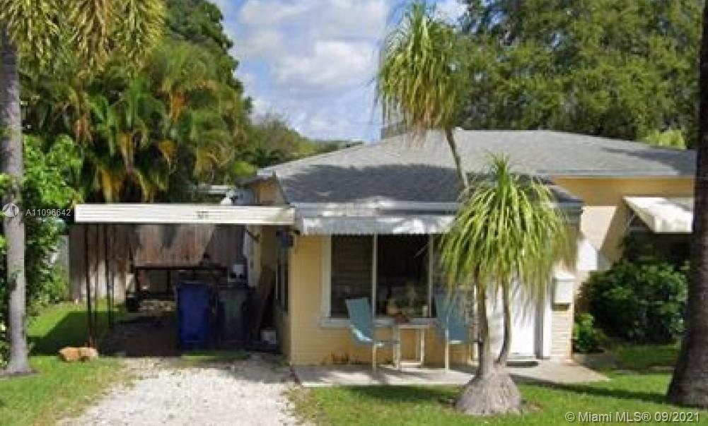 321 SW 16th Ct, Fort Lauderdale, FL 33315 2beds/1bath+1bed/1bath 1,615 sqft living Lot sqft: 6,70