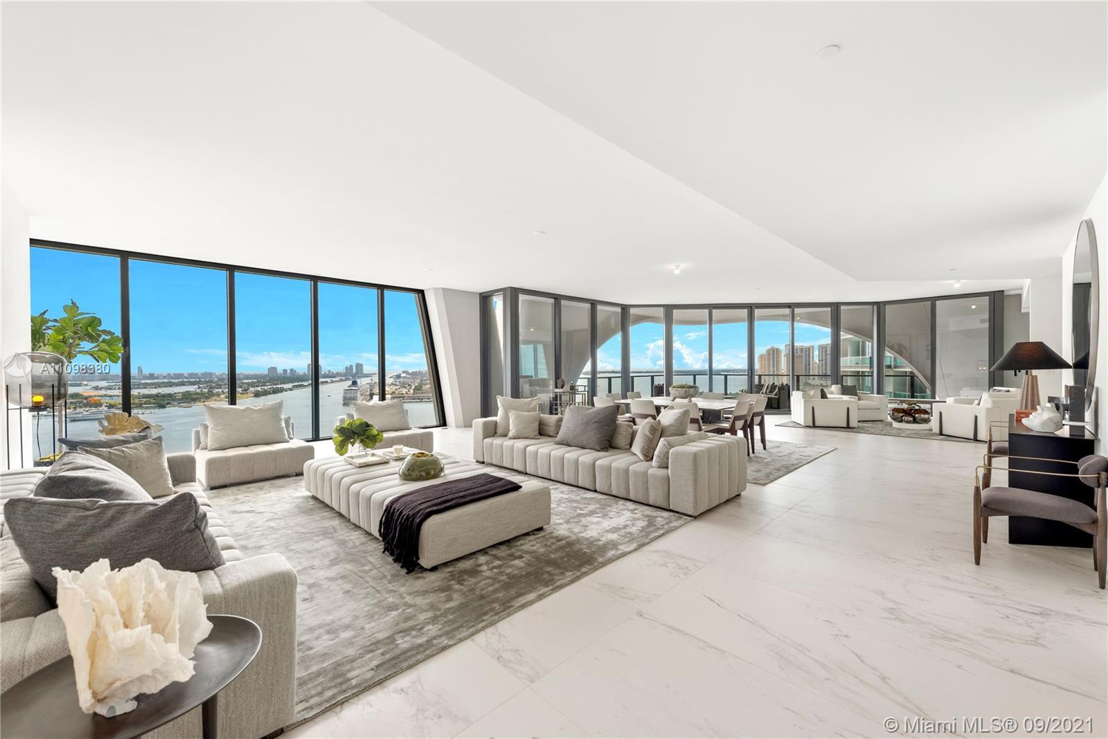 Experience extravagant condo living in Miami's most impressive architectural masterpiece designed by