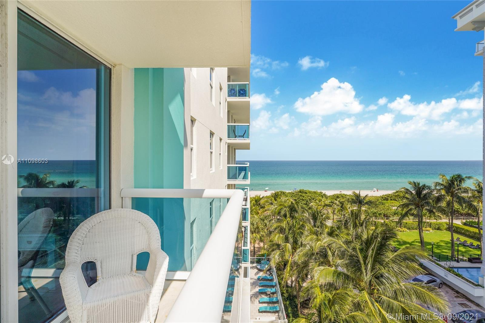 OCEAN FRONT!! Exclusive BOUTIQUE BLDG. Beautiful 2 beds 2 baths fully renovated four years ago with