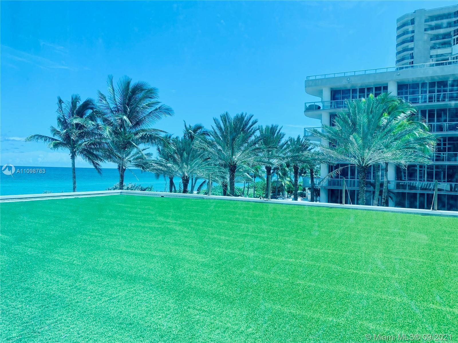 Stunning Ocean View Condo at Carillon Miami Wellness Resort of the best hotels in the USA, Turnkey h
