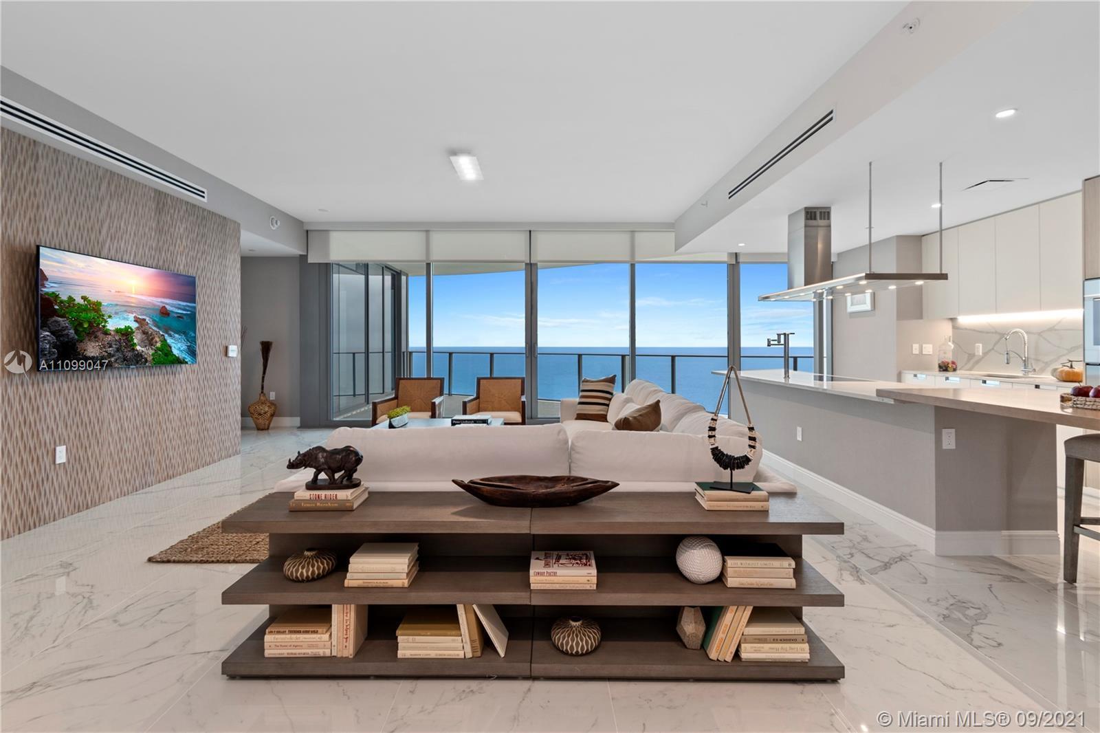 Stunning 3 Bedroom + 3.5 Bathrooms flow-through unit at The Ritz-Carlton Residences Sunny Isles Beac