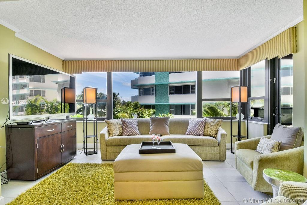 The Alexander, large 2 bedroom, 2 bath with Indian Creek views. Completely furnished.  Hurricane imp
