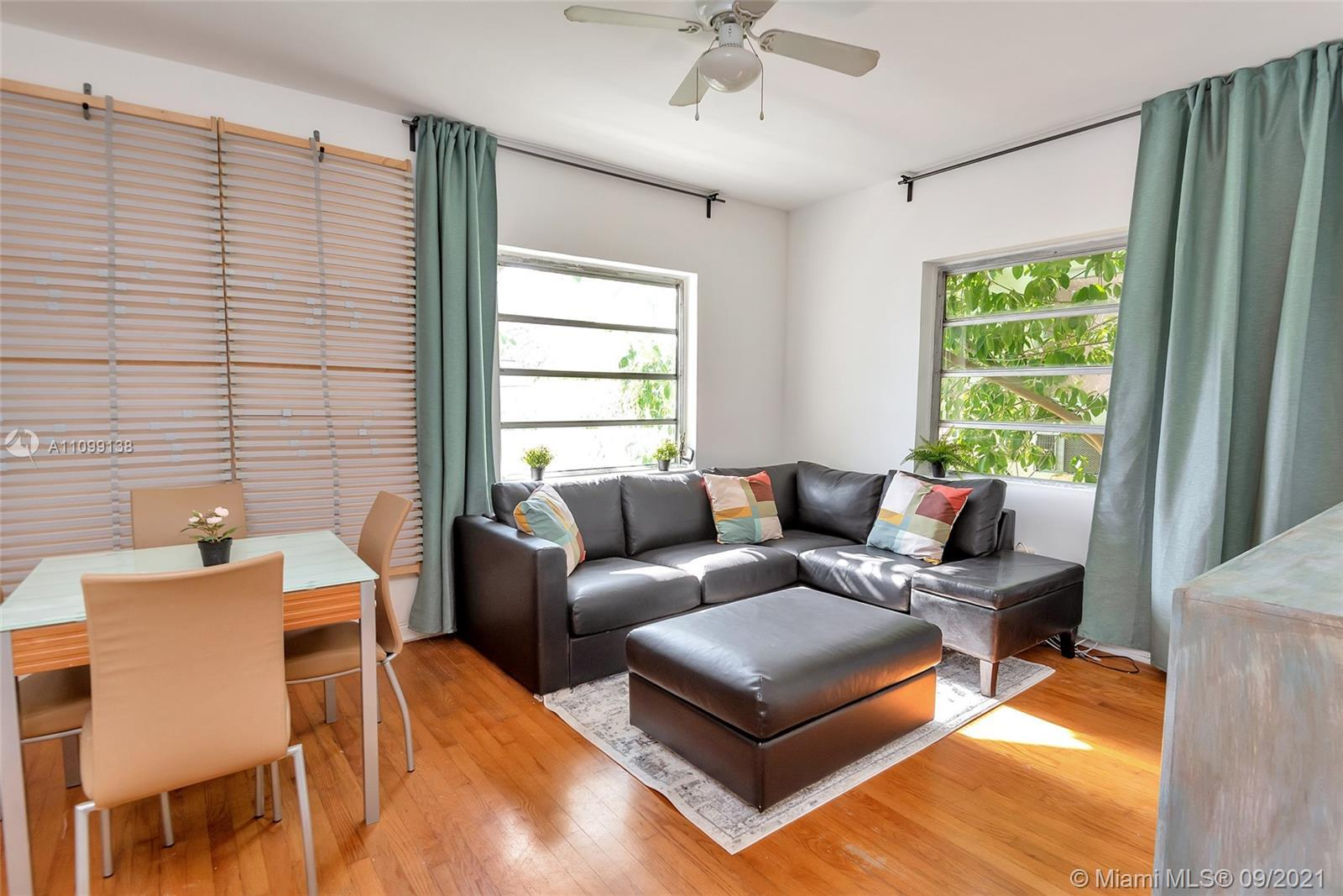 Renovated Pied-A-Terre Junior 1 Bed/ 1 Bath, Corner, Furnished ( optional) Unit Located on Second Fl