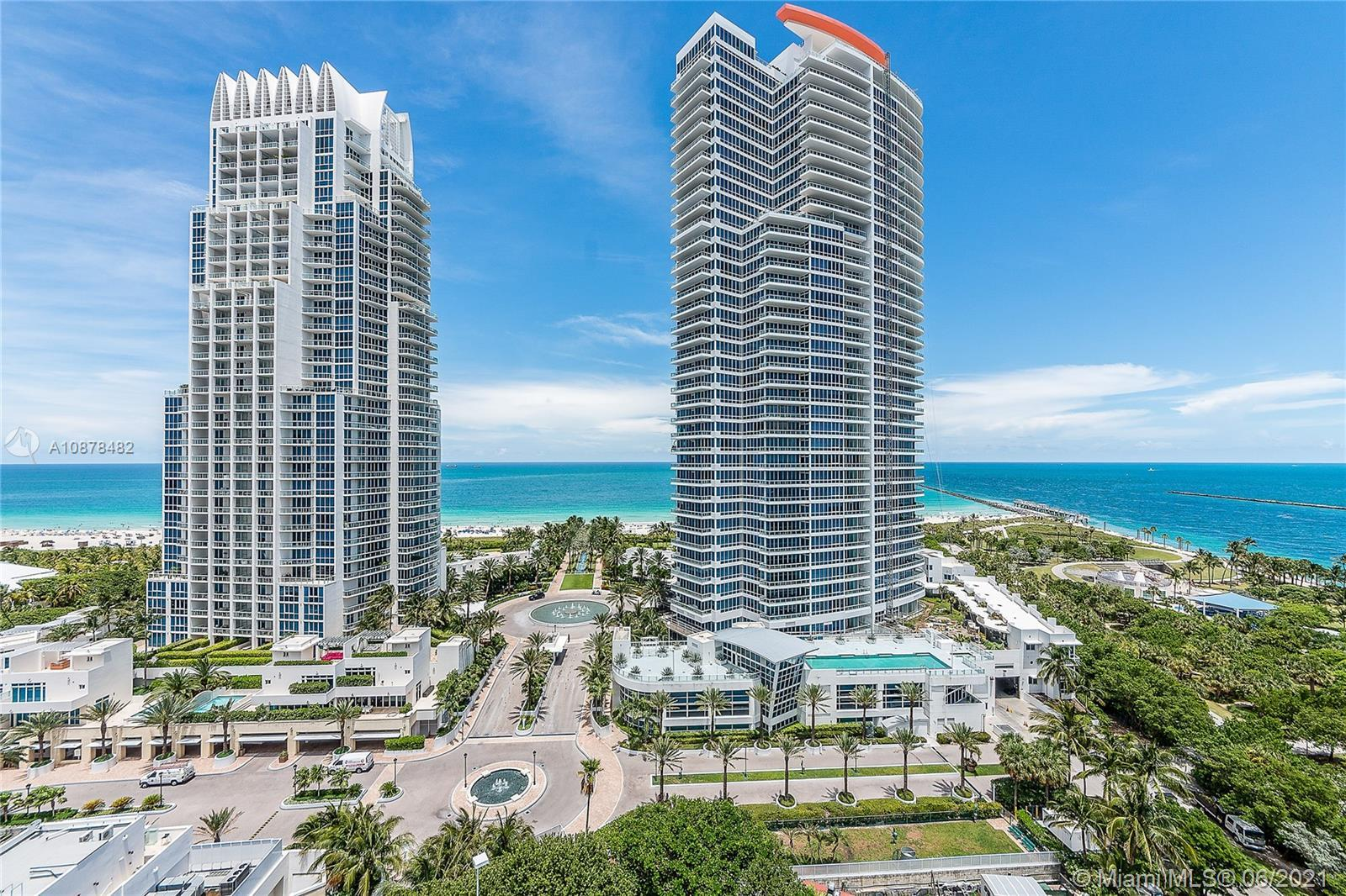 Enjoy living in this tastefully remodeled fully furnished 1 bed unit at the Continuum on South Beach