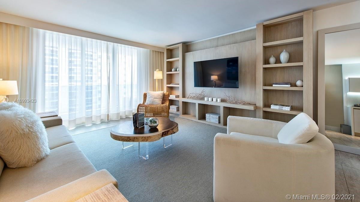 Do not miss the opportunity of owning this spectacular unit at the 1 Hotel & Homes. This 1 bedroom 1