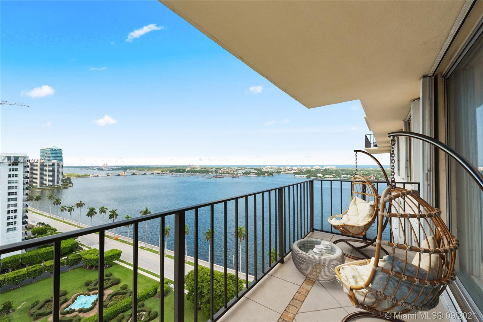Welcome to your next FL waterfront condo with view of the Intracoastal, Palm Beach Island and the Ci