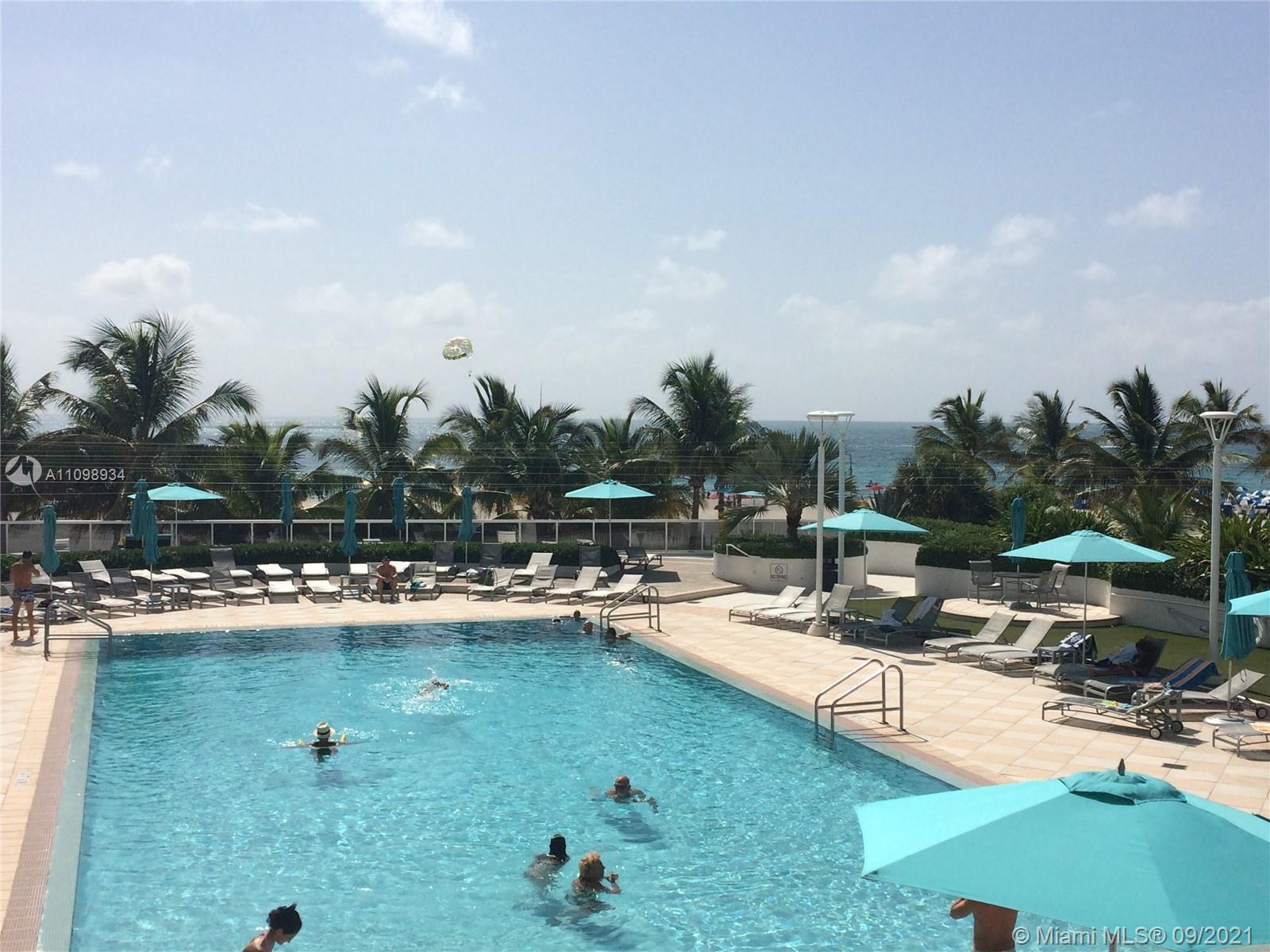 Building next to the Ocean! Spacious Jr. 1Bed/1 Bath unit located at the Decoplage condo in South Be