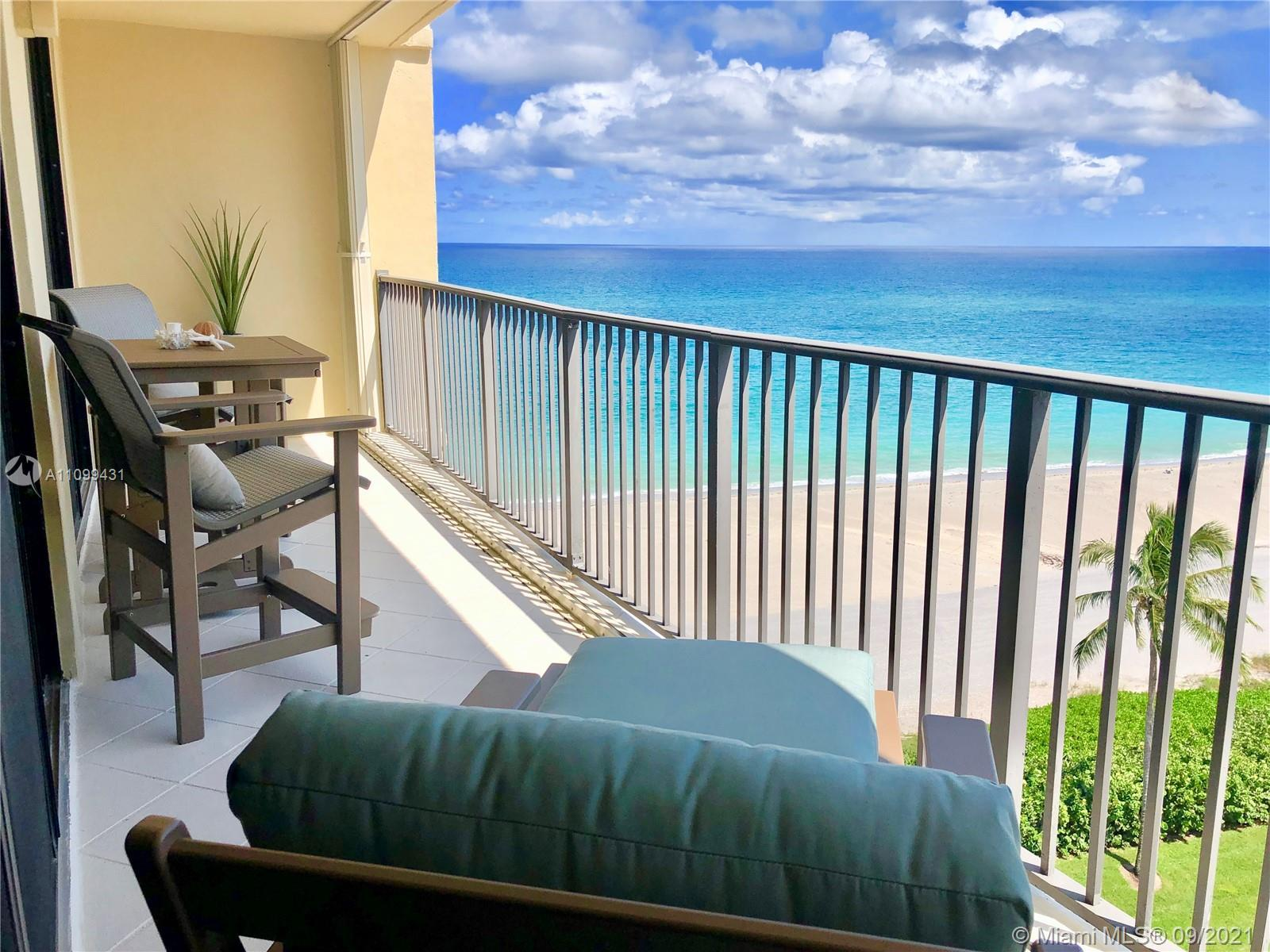 WOW! Must see Unobstructed Ocean View! Steps away from the Beach! Beautifully Remodeled! Impact Wind