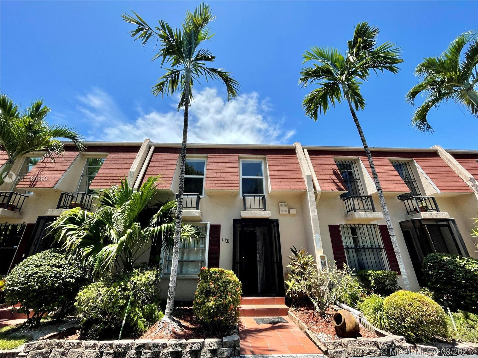 Rare, move in ready and upgraded townhome in Hallandale Beach. Spacious split floorplan with tile on