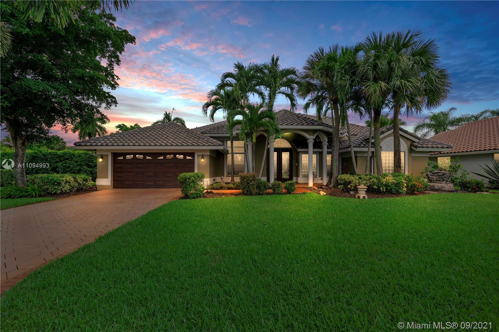 Wow! 5-Bed, 3-Bath Waterfront Pool Home With Over $140K In Upgrades In Prestigious Gated Community O