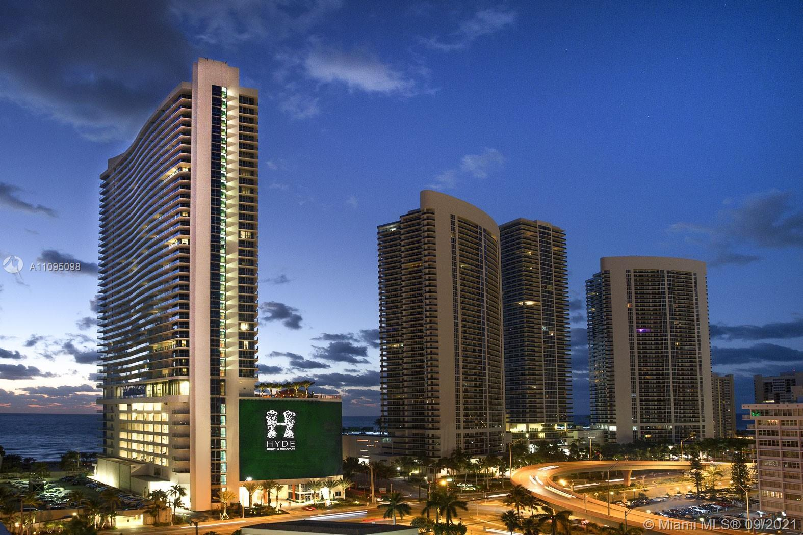 Call your investors! Best deal at Hyde! Ocean Front! Italian flooring throughout the unit, South Flo