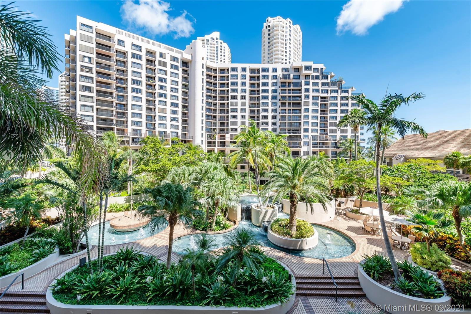 Live on the exclusive island of Brickell Key, Gated condominium within gated island. Very spacious 2