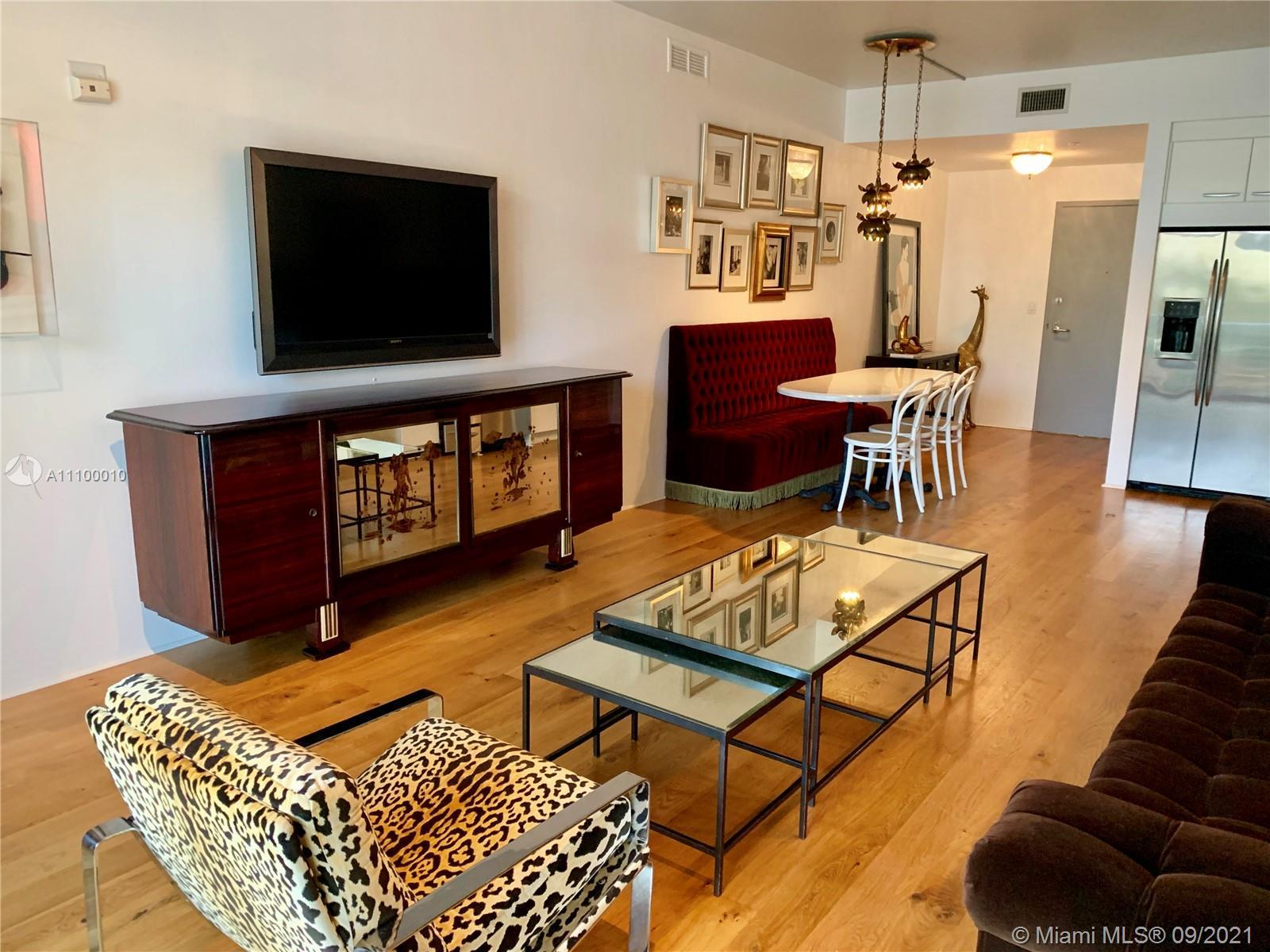Designer furnished 1 br/1.5 bath with large balcony in South Beach's iconic Zyscovich-designed Merid