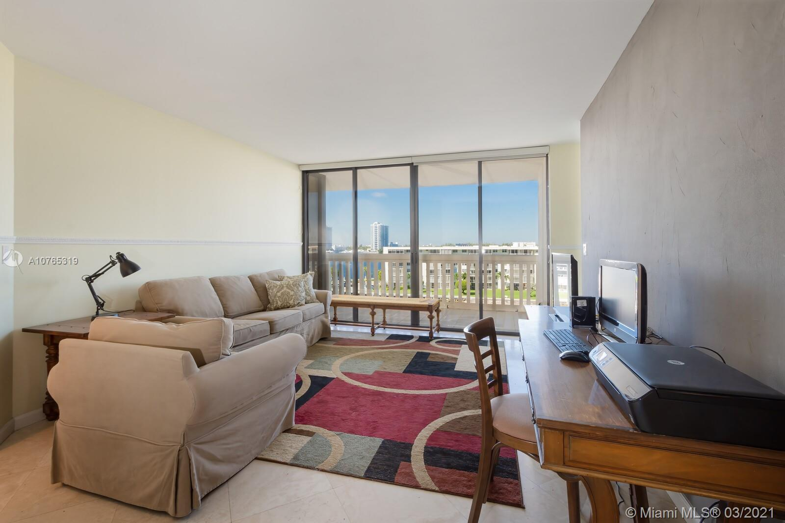 AMAZING WATER VIEW FROM EVERY ROOM. COMFORTABLE 2 BEDS 2 BATHS SPLIT ROOM. BUILDING FEATURES INCLUDE