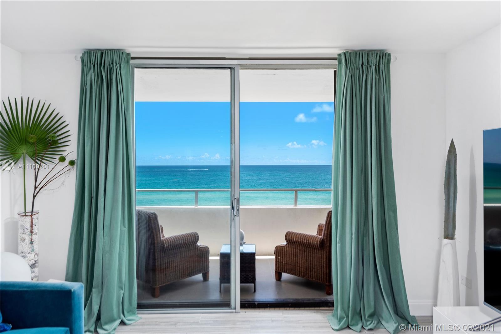 Iconic Morris Lapidus bldg on Millionaire's Row in Miami Beach-Completely renovated 2/2 residence w/