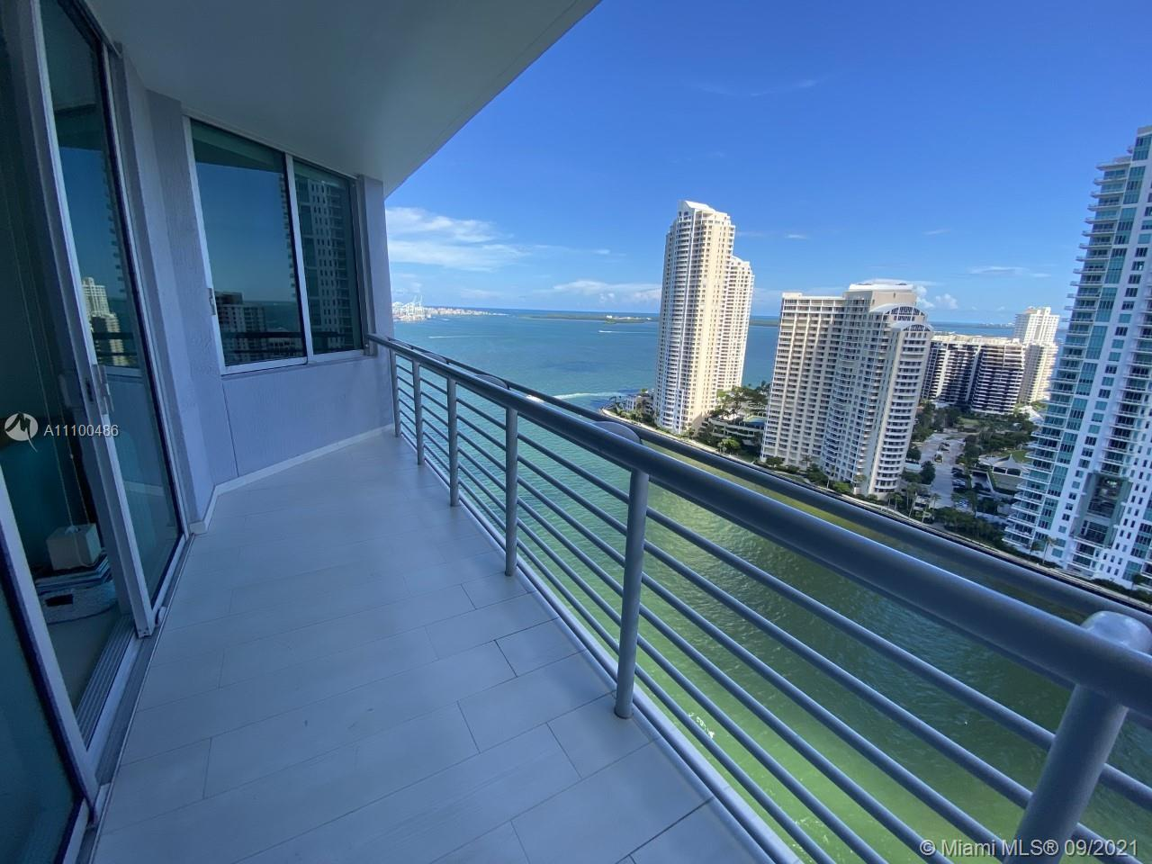 Unique rare opportunity.  Renovated 2/2 split, gorgeous ocean, bay and river and city views.  Furnit