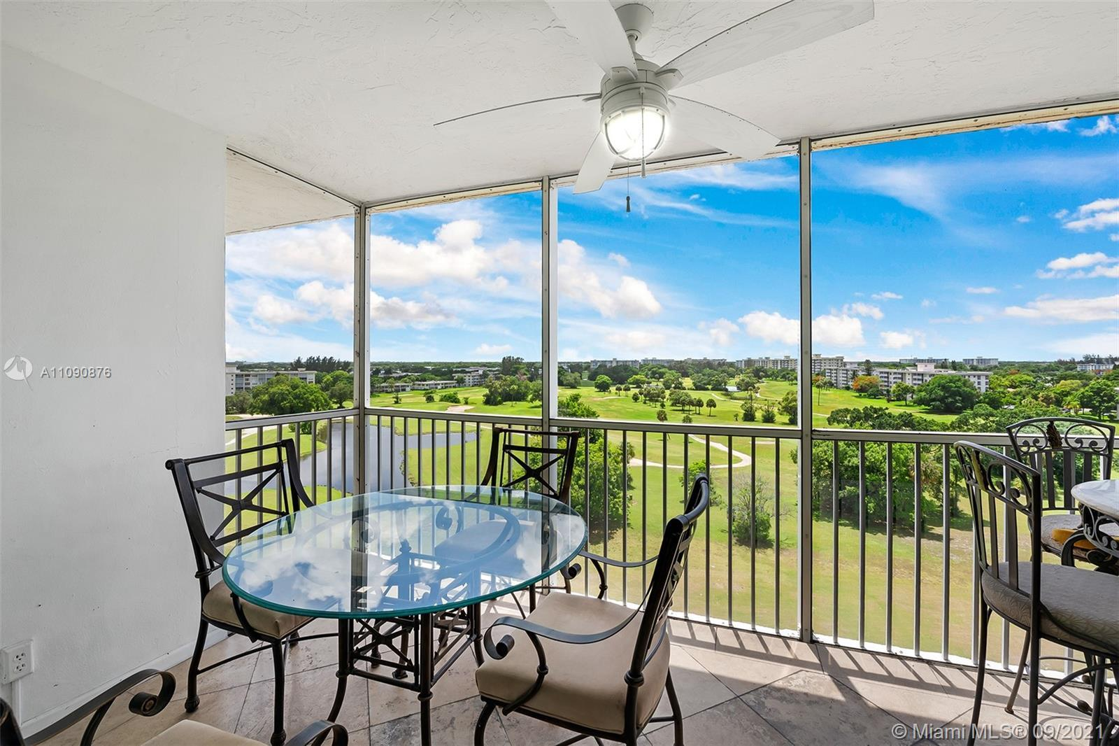 SPECTACULAR GOLF COURSE VIEWS FROM THIS BEAUTIFULLY UPGRADED PENTHOUSE CONDO! 2 BEDROOMS WITH 2 UPDA