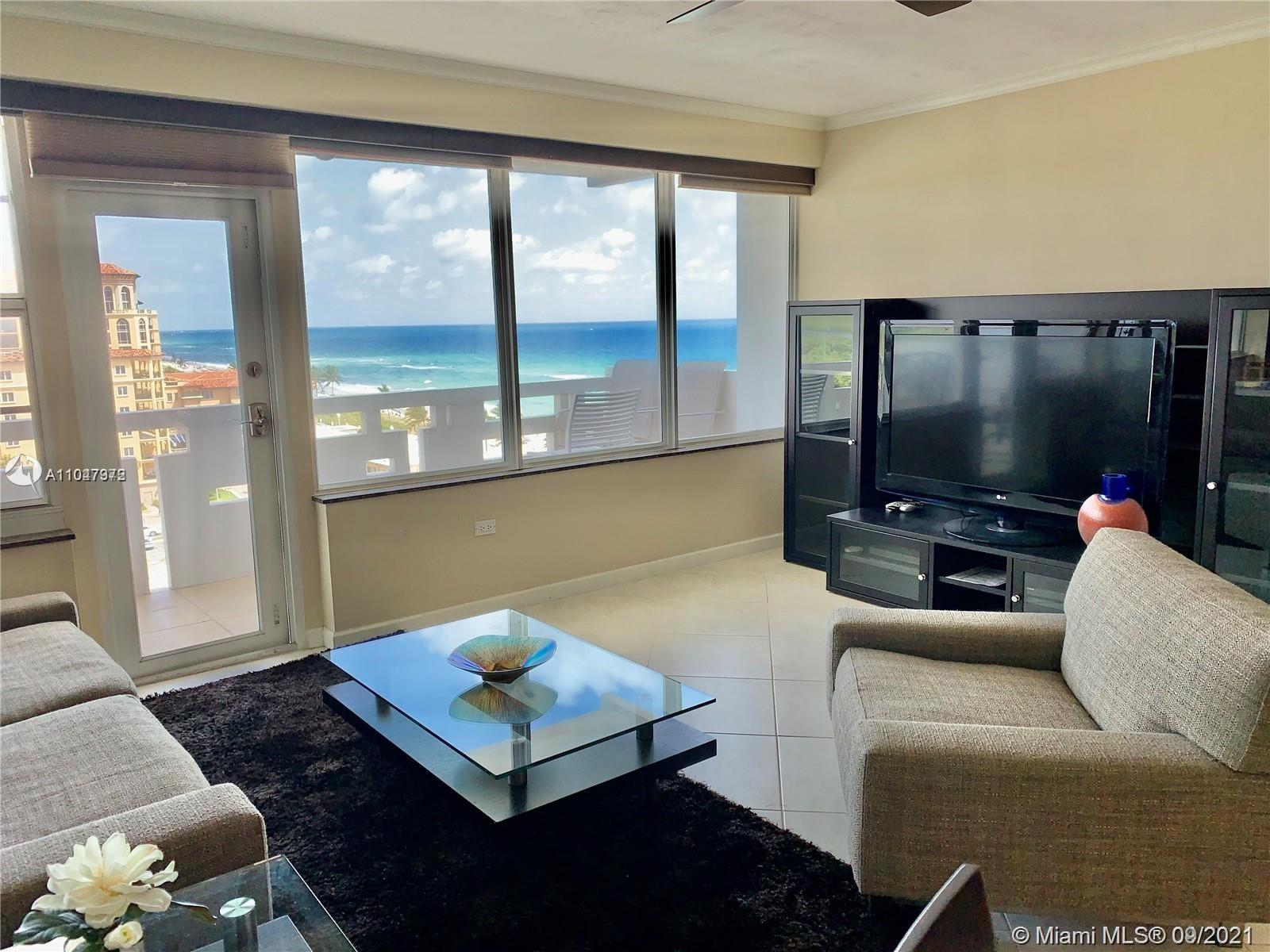 **BEAUTIFUL, FULLY RENOVATED, FULLY FURNISHED AND FULLY EQUIPPED 2BED/2BATH OCEANFRONT CONDO IN HOLL