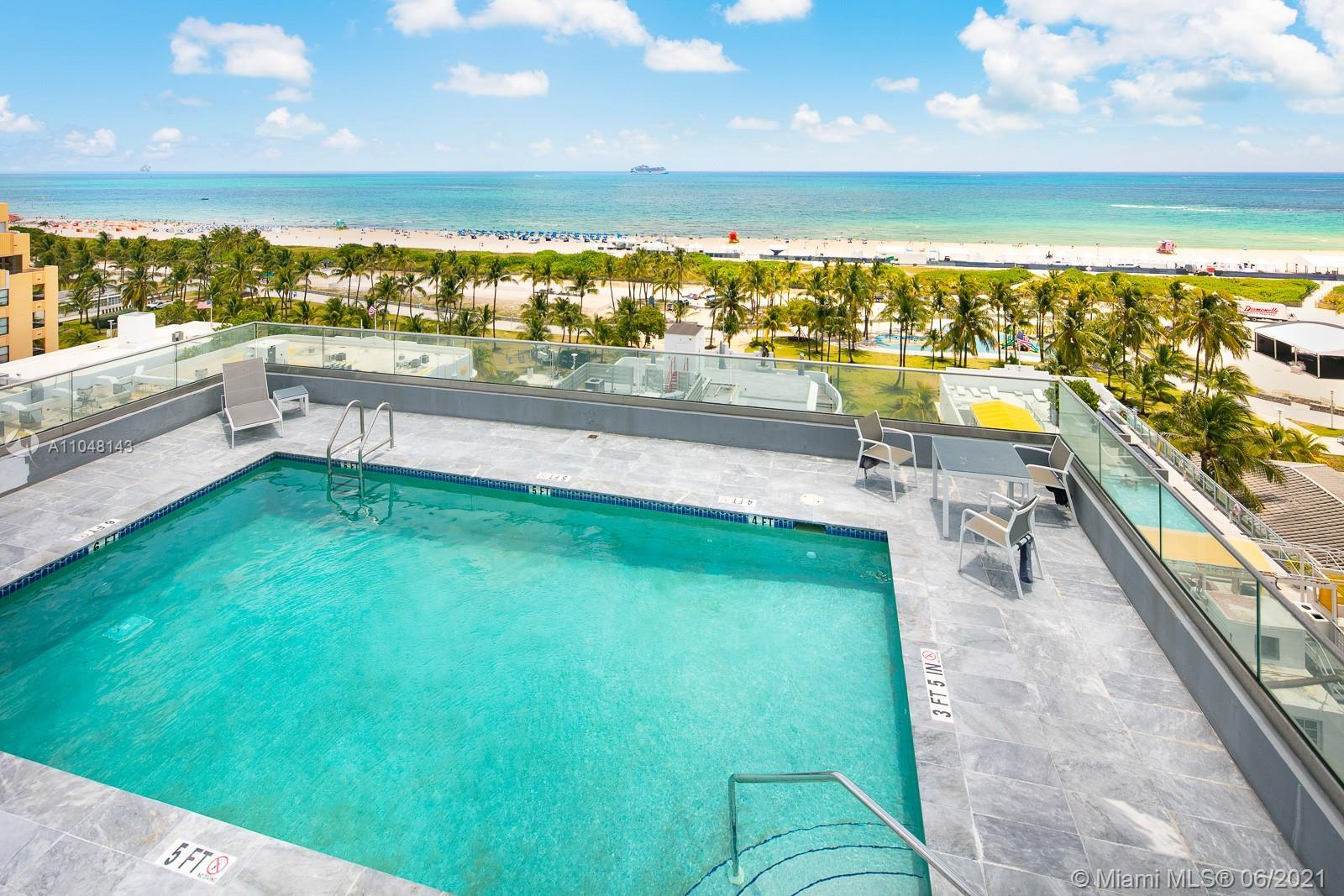 LOCATION. LOCATION. LOCATION - 1 building off Ocean Drive & the sand & warm waters of Miami Beach.