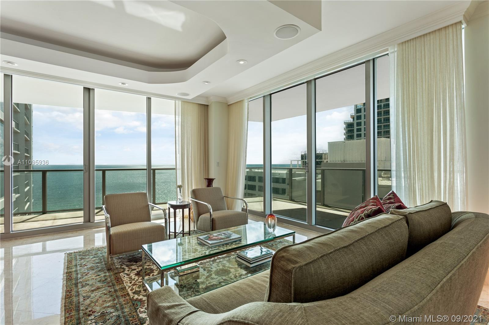 Spectacular oceanfront unit in Ocean Palms with two big balconies for Southeast and Southwest side v