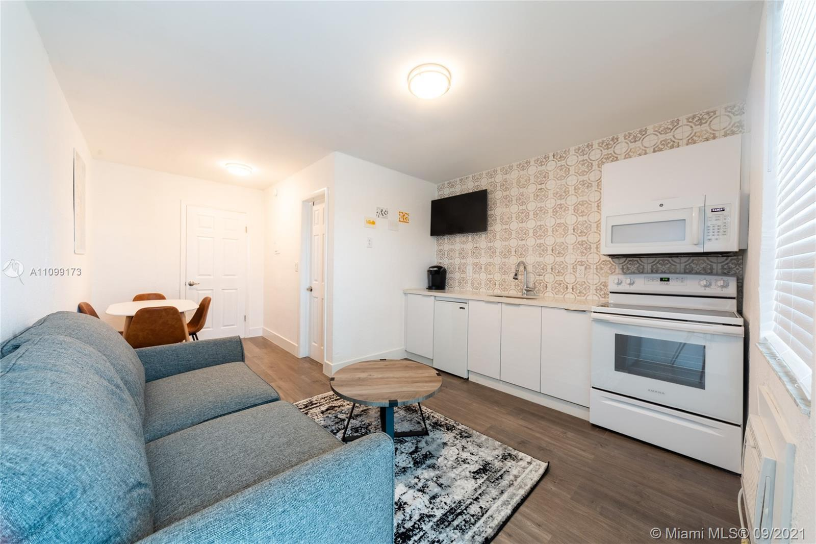 TURN KEY LEGAL AIRBNB One bedroom 1 bath totally renovated wood laminate floors faux marble porcelai