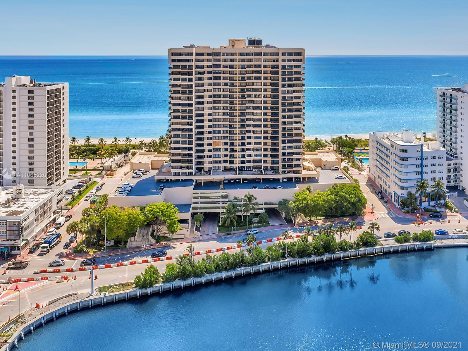 ***Reduced***Lovely 1 bedroom 1.5 bath beachfront condo in the best of Miami Beach, with spectacular