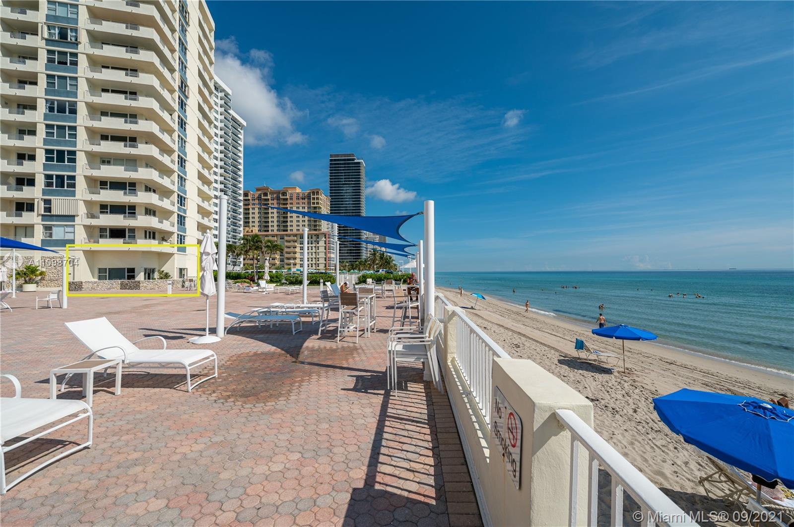 Welcome to one of the most unique condos in the zip code! 100 steps to the sand! This rare corner un