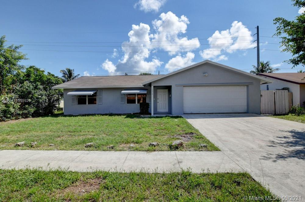 Come and check out this charming 3 bedroom, 2 bathroom home! Upon entry to the home, you will be imp