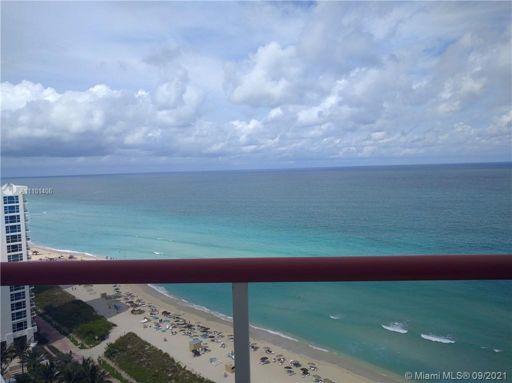 Live on the beach!  Motivated seller. Direct unobstructed ocean views with a wrap around balcony. Be