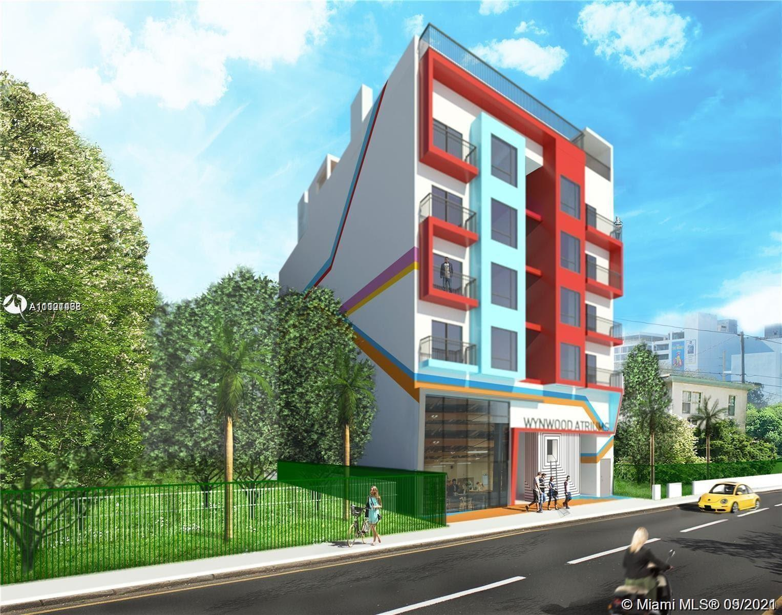 Wynwood Atriums is a unique boutique building in the desirable and fast growing neighborhood of Wynw