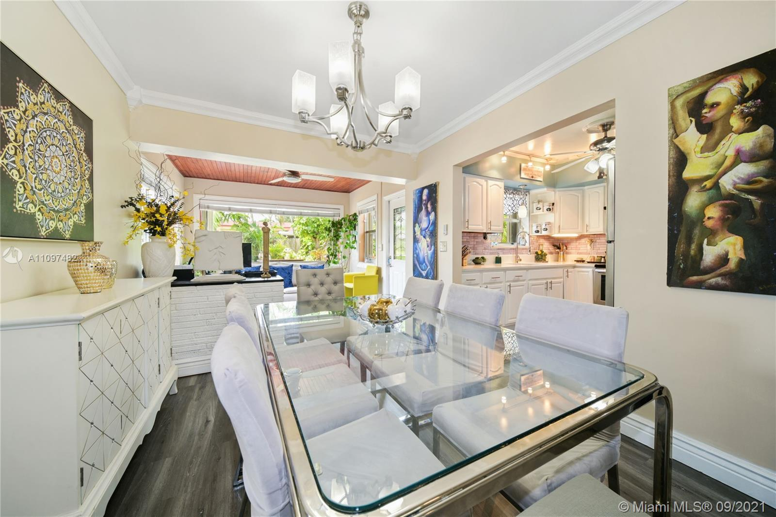 Home is completely updated , from the floors to the walls. It is an owners pride home. Conveniently