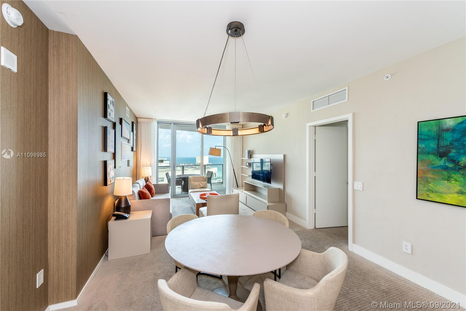 NORTH VIEW!! 2 bedroom, 2 bathrooms fully furnished CONDO HOTEL. Great view to the north with some o