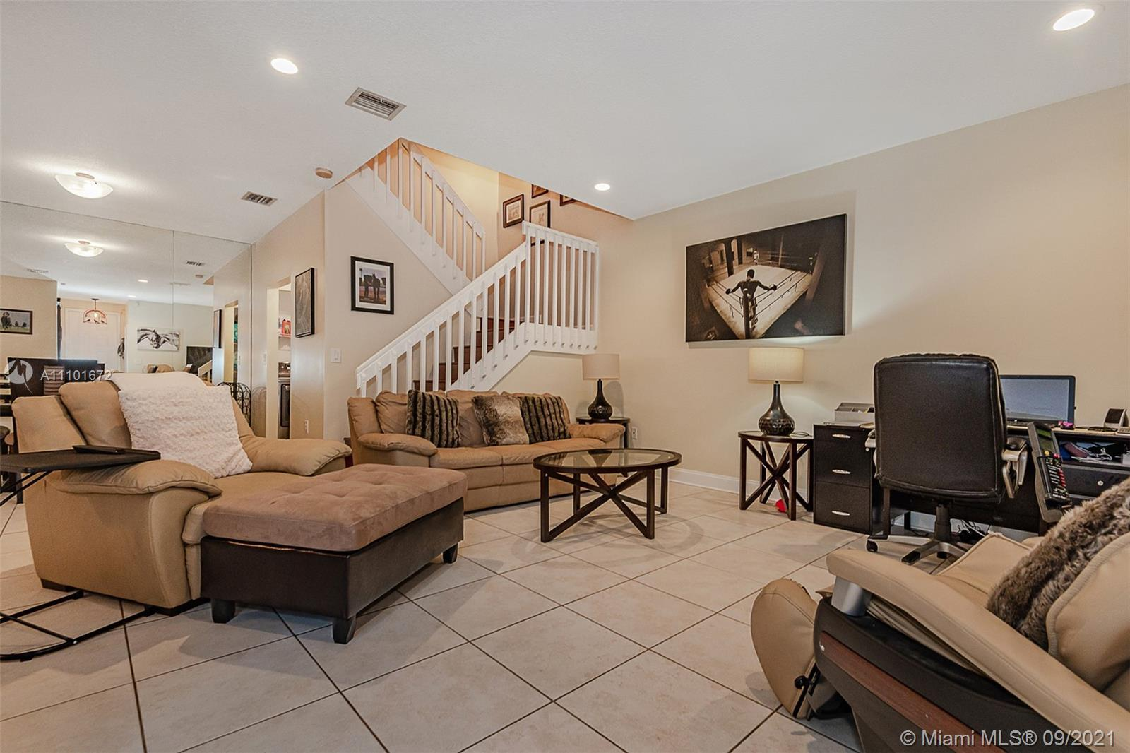 Largest style townhome available. This home has been made into 2 bedrooms with attached office area,