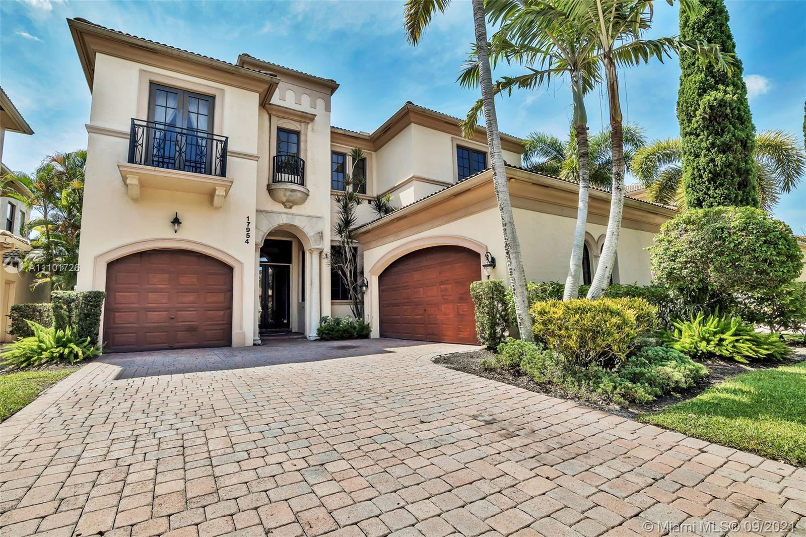 Mediterranean elegance resonates in one of the most sought after locations in Boca Raton. This 5 bed