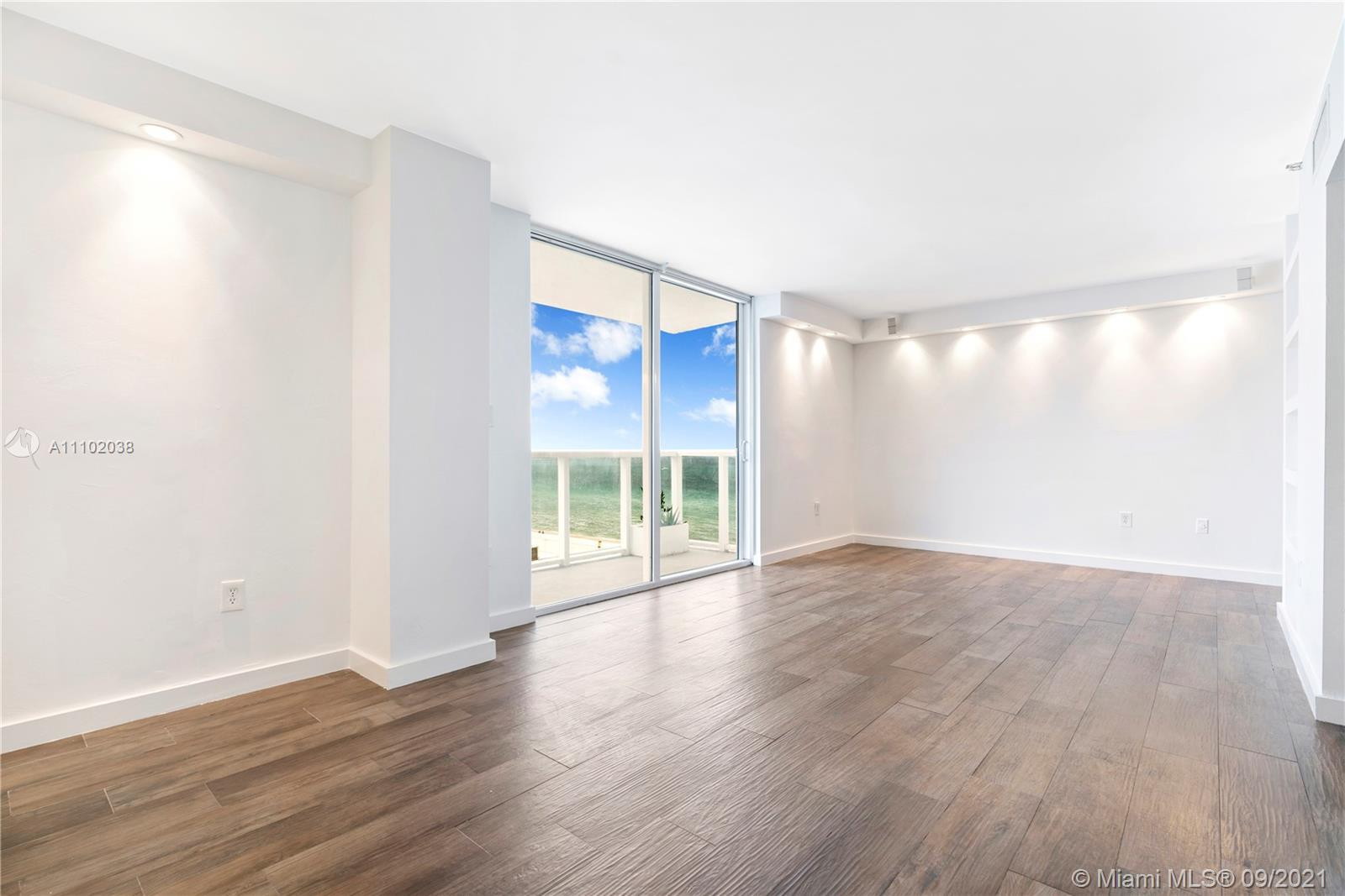 Oceanfront Boutique Condo in Miami Beach. 11th Floor Property clears building next door allowing for