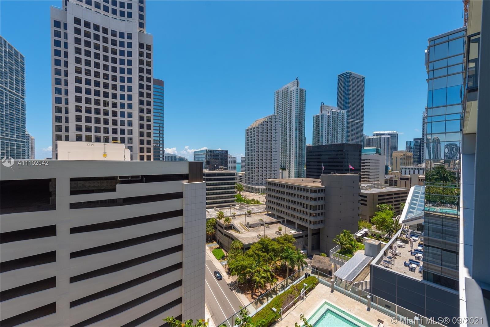 A one of a kind unit at Reach, Brickell City Centre! Spectacular 3/3.5 baths unit in the 03 line at