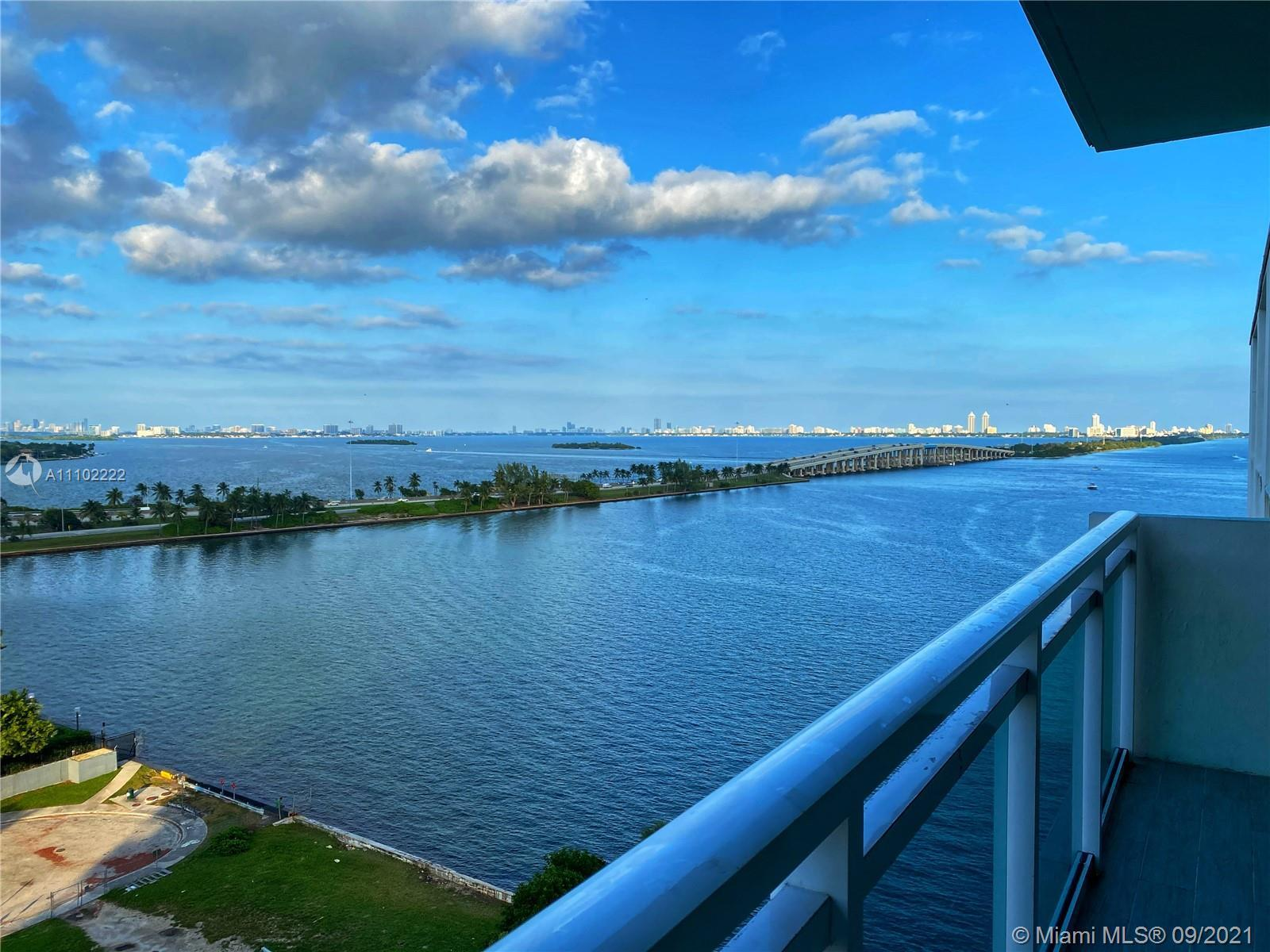 COMPLETELY REMODELED WATERFRONT STUDIO WITH BREATHTAKING VIEWS OF BISCAYNE BAY IN THE HEART OF EDGEW