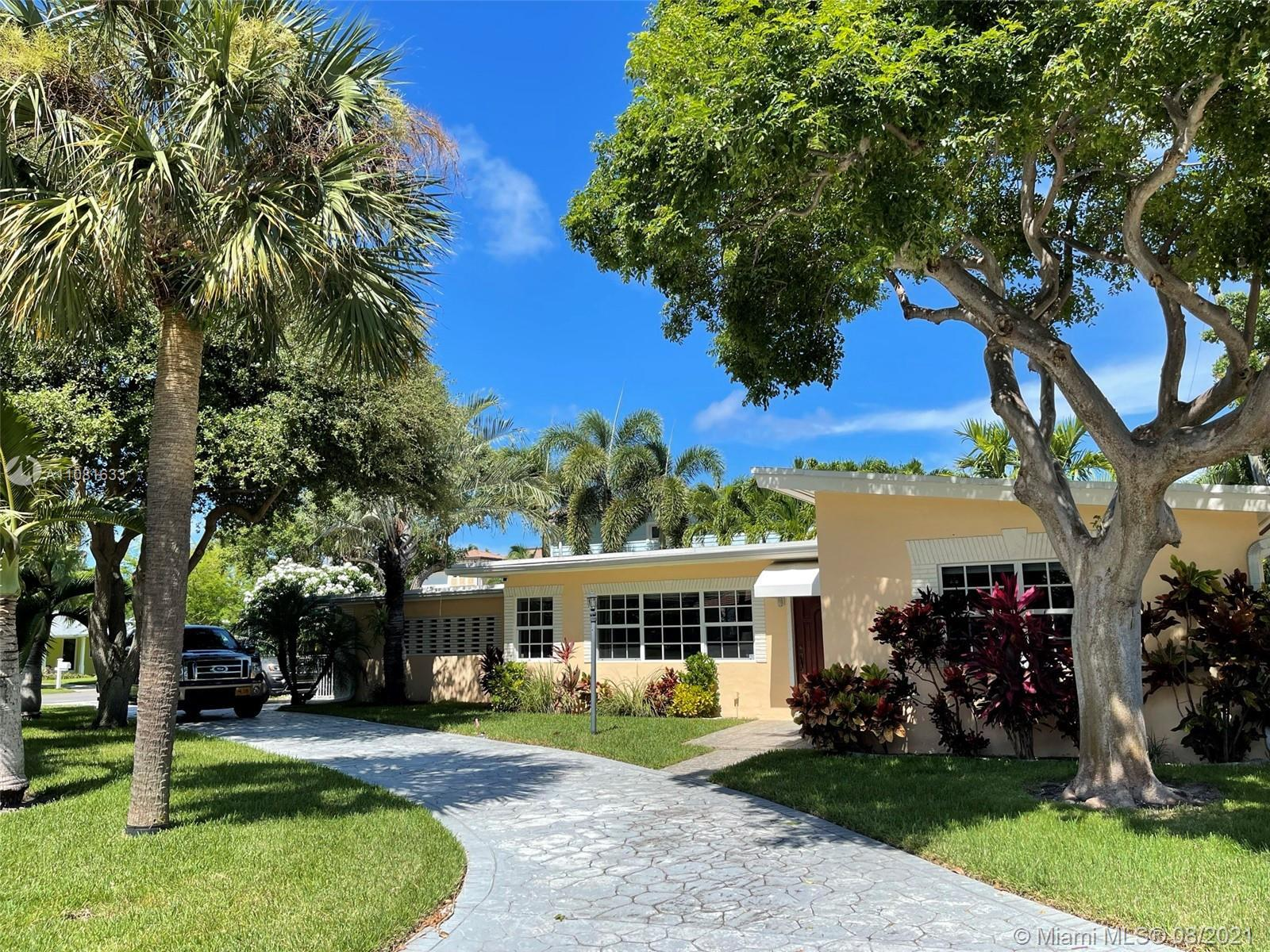 Gorgeous home in highly sought-after Hillsboro Shores, situated between the ocean and the Intracoast