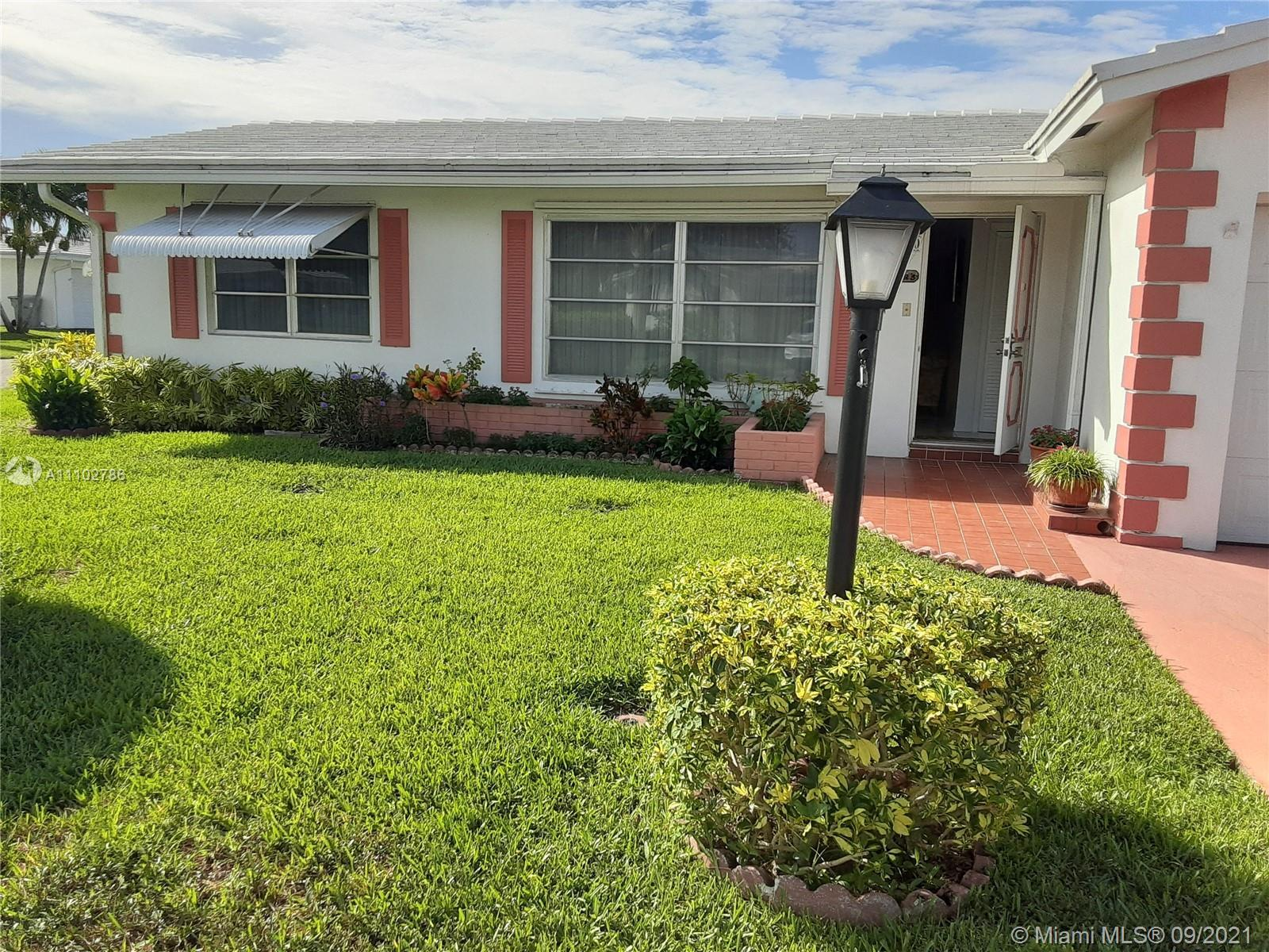 This is a 55 and over community, Beautiful house ,great community, spacious bathrooms ,close to majo