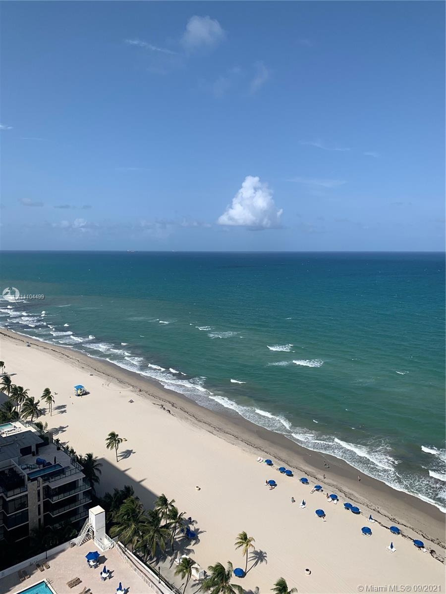 Spectacular Ocean view!! This Beautiful and spacious 25th Floor apt count with 2 bedroom, 2 bath jus