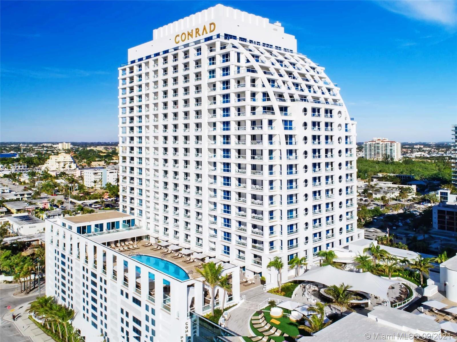 *** SPECTACULAR TURN-KEY JUNIOR SUITE IN CONRAD HOTEL & RESIDENCES  FORT LAUDERDALE *** AWESOME INSP
