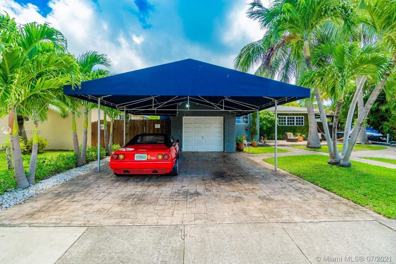 Lovely 3 bed 2 bath home located in North Bay Village with a 1 car garage. As per the owner the home