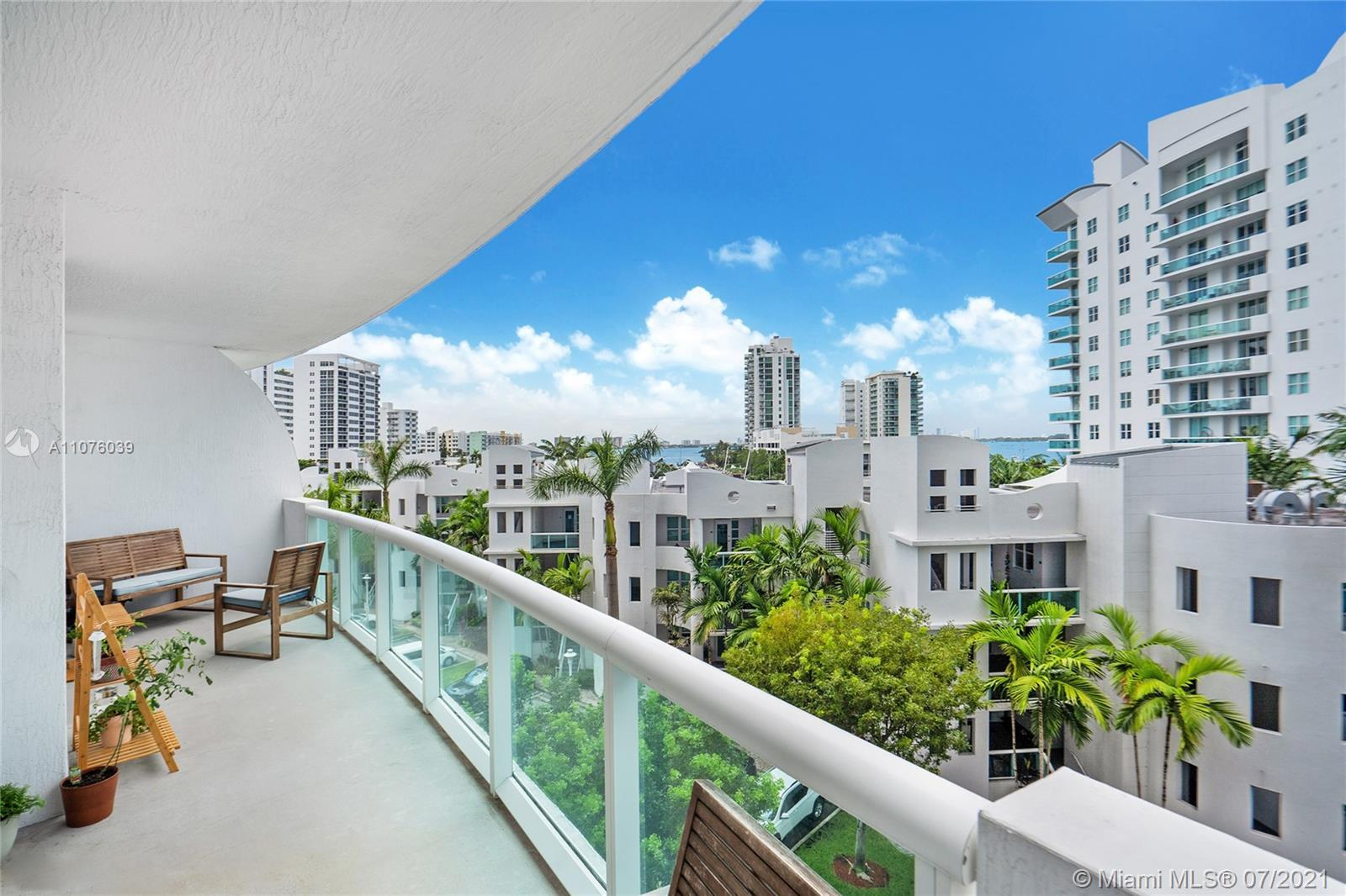 Beautiful 2 bedroom 2 baths apartment at the 360 Condo Building A in North Bay Village. The unit is