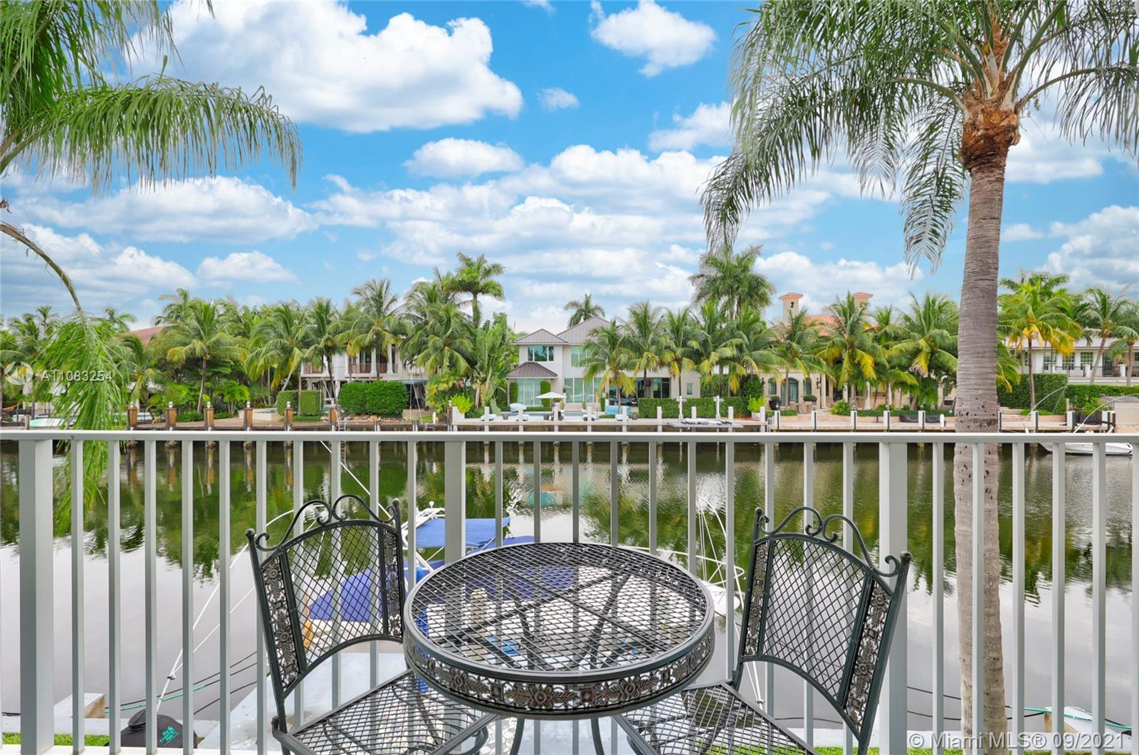 Top notch updated MIDCENTURY MODERN 2/2 co-op unit at The Oasis of Nurmi Isles off the world famous