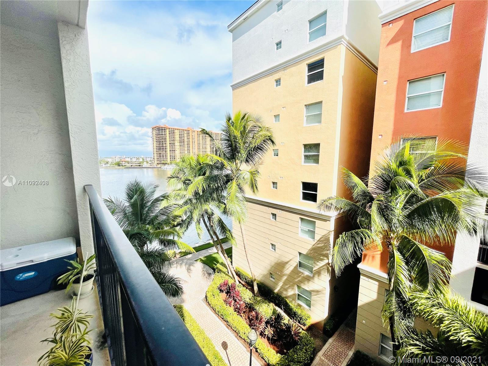 Very bright with natural light 1 bed 1 bath with a beautiful Partial Intracoastal View Condo in a hi