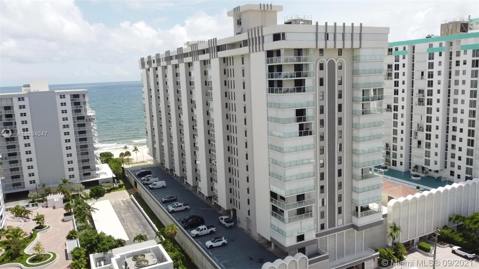 Water / Ocean Front Luxury Apartment 2BR, 2BA, Unit is tiled through out and bathrooms are updated.