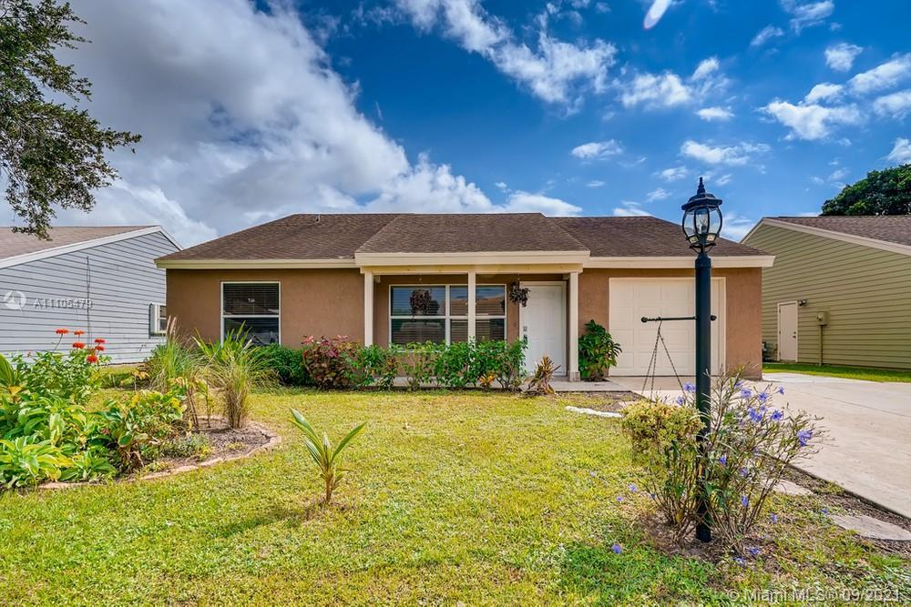 Get ready to call this 3 bedroom, 2 bathroom home yours! The front entrance leads you inside to an o