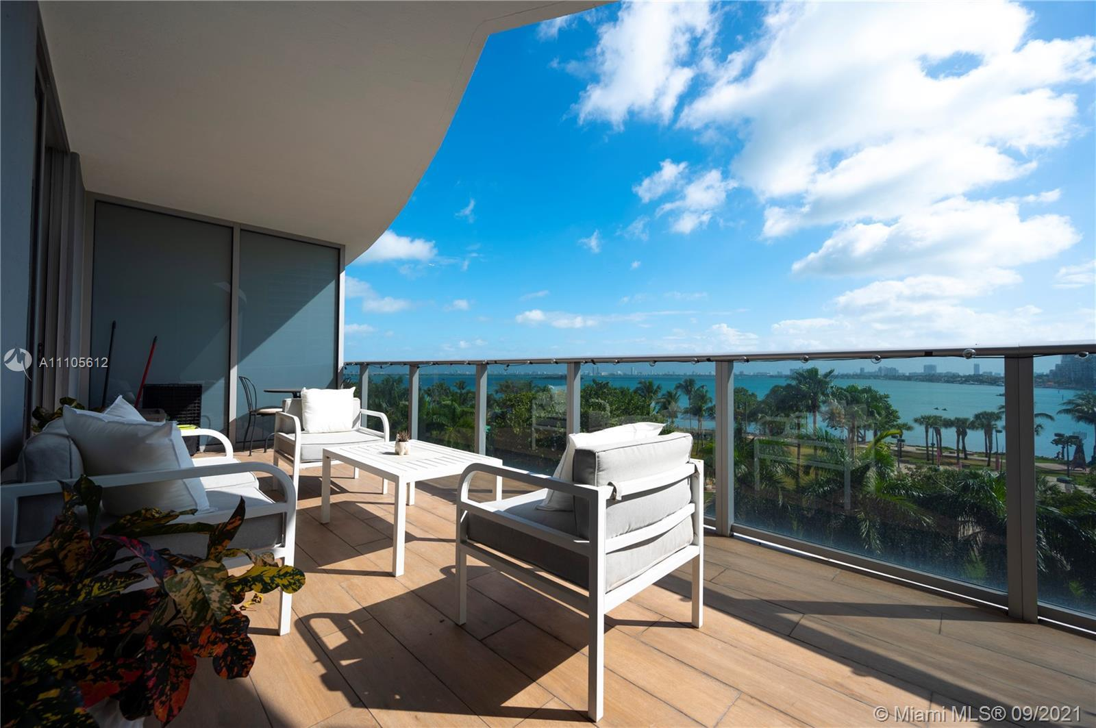Bay Views from every point of this cozy Apartment, unit featuring large balcony, porcelain floors th