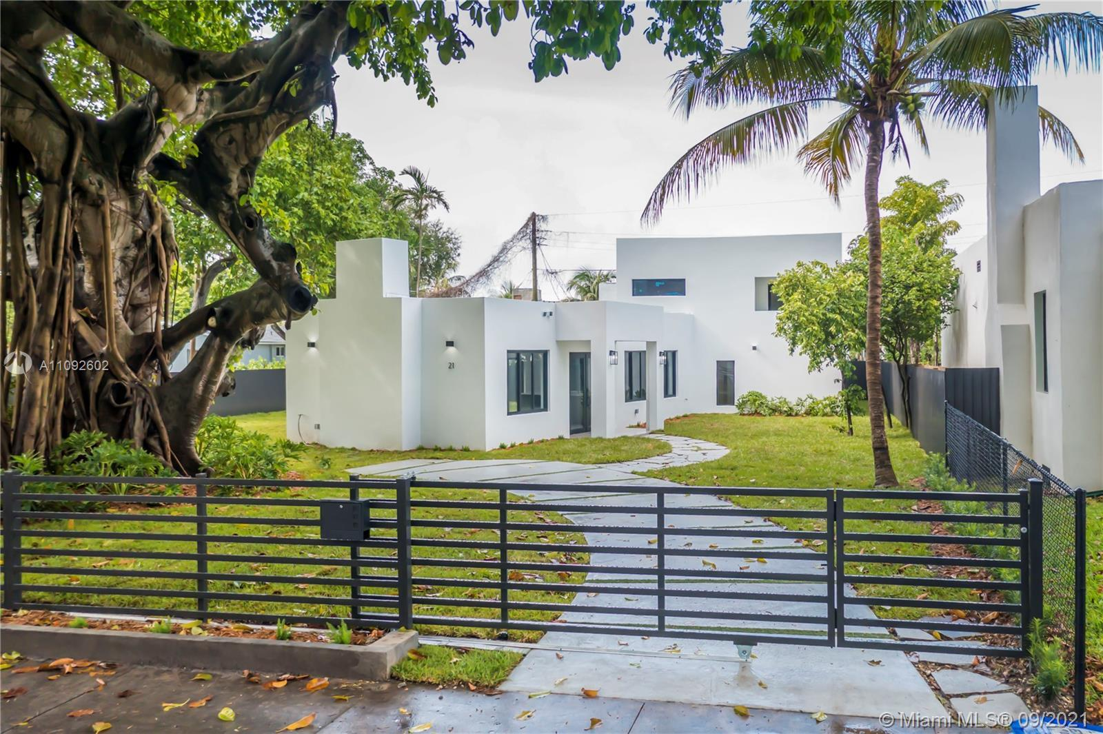 Don't miss the opportunity to own this unique custom modern designed two story home in the heart of