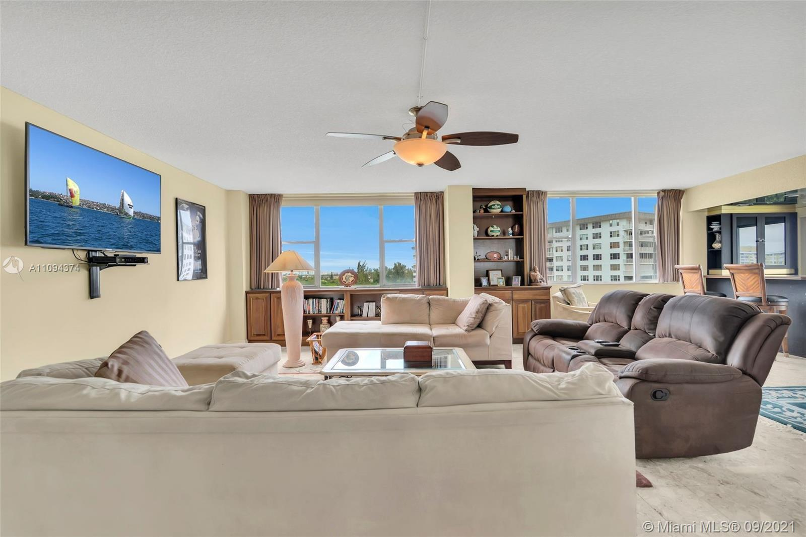 """When I walk into this amazing condo the song """"I Can See for Miles & Miles"""" comes to mind. The view f"""